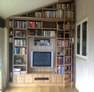 bookshelf bespoke kitchen design york